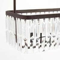 Vintage Acrylic Ceiling Light For Sale  - Chic Paradis Lux